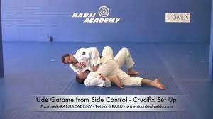 Hamilton Of Martial Arts Jiu by Rolling Armlock From Side Control Ude Gatame Ricardo Almeida