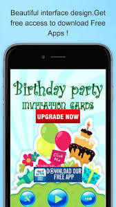 invitation maker app best happy birthday greeting card maker app on the app store