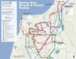 Evcc Campus Map Going To Boeing Everett Everett Transit Wa Official Website