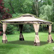 Garden Treasures Pergola Gazebo by Garden Winds Gazebos U0026 Pergolas