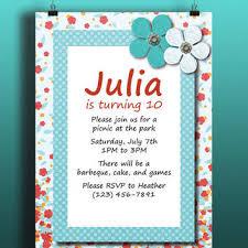 shop girls birthday invitations templates on wanelo