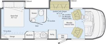 class a rv floor plans reyo 25q floorplans winnebago rvs rv pinterest rv
