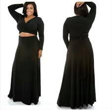 dress wrap around cut out plus size long sleeves maxi dress