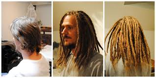 Installing Extension Dreads In Short Hair | how i make dreadlocks on really short hair find me at dreadlock