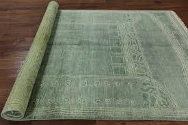 green navajo design 6 x 9 gabbeh wool rug h8442