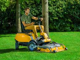 stiga villa 14 hst mulching ride on lawnmower excluding deck
