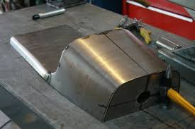 making an oil tank for a cb750 out of the dunstal cafe u0027 racer seat