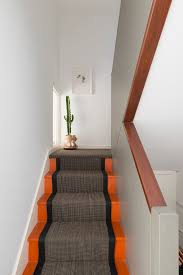 modern stair runner ideas staircase contemporary with narrow