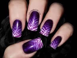 55 classy purple gradient nail art ideas