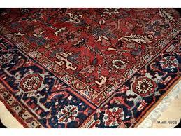 antique persian heriz rug circa 1930 u0027s genuine handmade hand