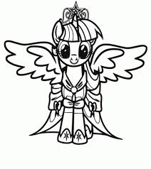 my little pony twilight sparkle coloring pages getcoloringpages