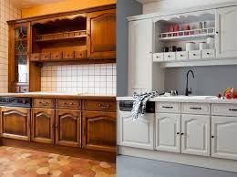 placards cuisine comment repeindre une cuisine en bois