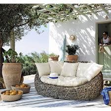 canap rotin maison du monde canapé de jardin 2 places en rotin kubu prix canapé de