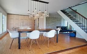 Kitchen Table Light Fixture Ideas Dining Room Pendant Lights Painted Bricks Brick Fireplace Best