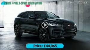 land rover safari 2018 new jaguar f u2011pace r u2011sport black edition luxury suv car 2018
