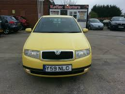 used skoda fabia 1 4 for sale motors co uk