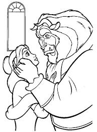beast love belle coloring download u0026 print