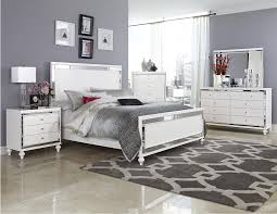 Homelegance Bedroom Furniture Homelegance Alonza Glam Chest Of Drawers With Mirrored Inlays And