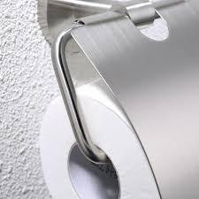 stainless steel tissue holder toilet paper storage organizer
