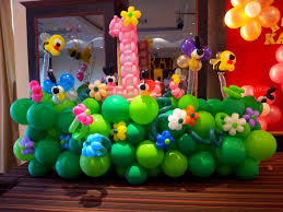 balloon decoration ideas for 1st birthday party at home home
