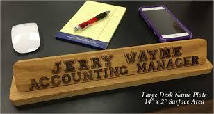 Wooden Desk Name Plates Name Plates Wooden Desk Nameplates