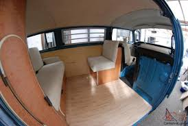 volkswagen westfalia camper interior vw 1972 t2 bay window kombi lhd 1500cc westfalia interior serviced mot