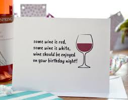 birthday drink wine birthday cards pack of 5 wine lover happy birthday wine card