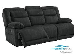 Fabric Recliner Sofa Dual Recl Fabric Sofa Gray Sofa Living Room