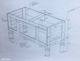 How To Build A Vanity Build A Diy Bathroom Vanity Part 3 Creating The Partitions