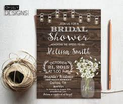 rustic bridal shower invitations best 25 rustic bridal shower invitations ideas on rustic