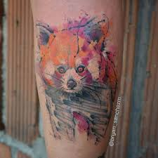 34 incredible red panda tattoos