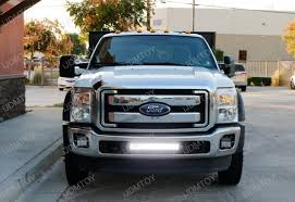 f250 led light bar 120w high power led light bar for ford f 250 f 350 super duty