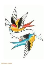 vintage swallows tattoo swallow american traditional and