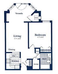 floor plans for apartment floor plans for cove care retirement community