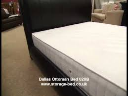 brand new storage bed dallas ottoman bed gas lift up frame black