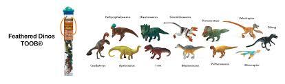 free safari ltd dinosaur toob keys