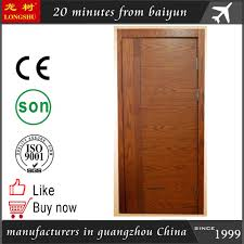 latest design interior laminated flush wooden doors latest design