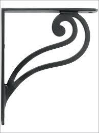 fascinating decorative shelf brackets size of buy cast iron
