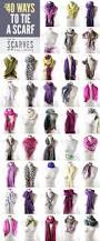 50 ways to tie a scarf loves pinterest scarves clothes and