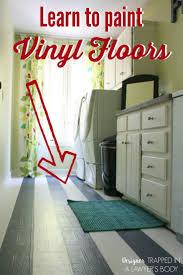 Checkerboard Vinyl Floor Tiles by Best 25 Painted Vinyl Floors Ideas On Pinterest Black Vinyl