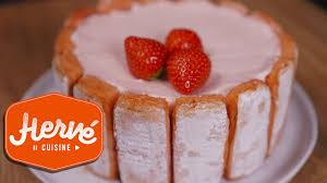hervé cuisine fraisier recette aux fraises facile et rapide