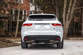 jaguar f pace trunk review 2017 jaguar f pace r sport canadian auto review