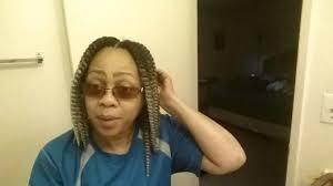 hair braid styles for women over 50 women over 50 crochet braid style part 2 youtube