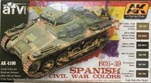 ak interactive ak 4190 spanish civil war colors set paint review