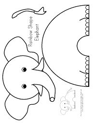 e is for elephant preschool elephants pinterest zoos craft