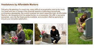 affordable grave markers home headstones gravestones grave markers by affordable markers