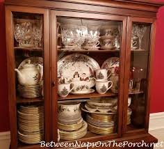 how to arrange dishes in china cabinet after all that garage dish storage what s left inside