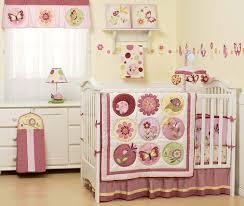 Crib Bedding For Girls Amazon Com Kidsline Sorbet 6 Piece Crib Bedding Set