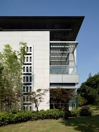 U Shaped Building by Dongjiao State Guest Hotel