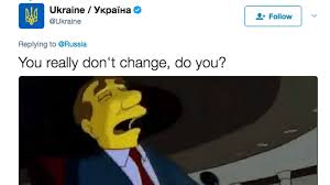 Puerto Rico Flag Gif Russia And Ukraine Got In A Twitter Fight There U0027s A Simpsons Gif